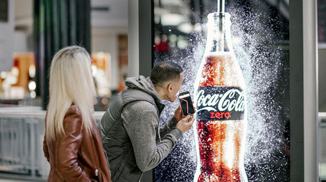 Coca-Cola rend ses affiches « buvables » | streetmarketing | Scoop.it