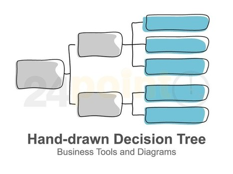 decision tree diagram' in powerpoint presentation tools and, Powerpoint templates