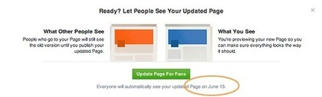 The New Facebook Page Design Is Coming: What It Means For You | Facebook Pages | Scoop.it