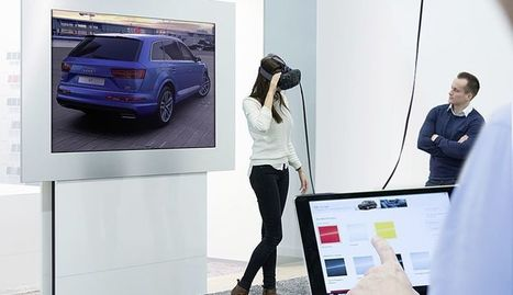 Audi Drives Virtual Reality Showroom with HTC Vive | Automotive Customer Experience Excellence | Scoop.it