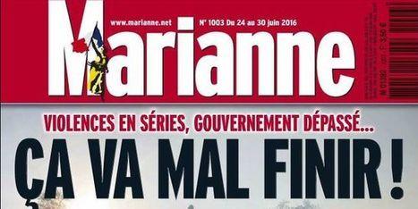 L'hebdomadaire «Marianne» en cessation de paiement | Actu des médias | Scoop.it