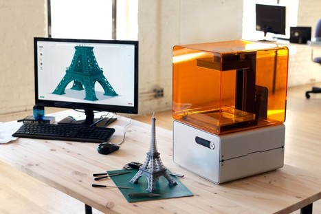 FORM 1 delivers high-end 3D printing for an affordable price, meets Kickstarter goal in 1 day | Big and Open Data, FabLab, Internet of things | Scoop.it