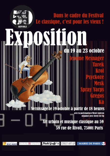 Exposition collective au 59 Rivoli | Tous les événements à ne pas manquer ! | Scoop.it
