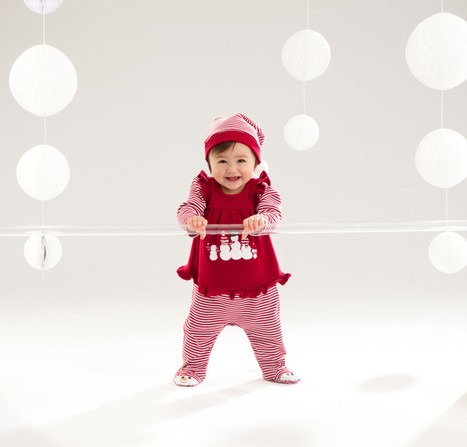 Baby Red Dress Wallpaper