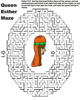 Queen Esther Maze Children 39 s Ministry Ideas