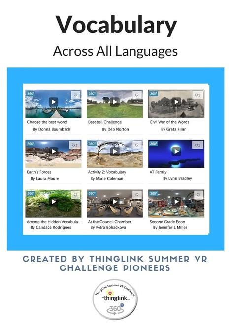 Engage Students in Vocabulary Across All Languages with 360/VR Interactive Images | Cool Tools for 21st Century Learners | Cool Tools for Multimedia | Scoop.it