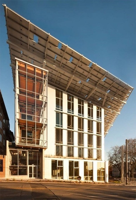 Bullitt Center Rises To The Green Building Top - EarthTechling | Ecological Construction | Scoop.it