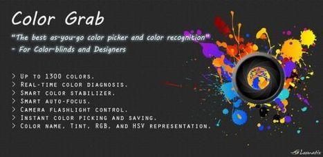 Color Grab – nueva aplicación de selección de color para terminales Android | Recull diari | Scoop.it