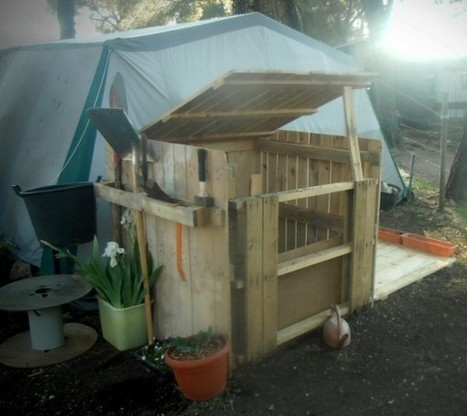 Pallets composter | 1001 Pallets | bancoideas | Scoop.it