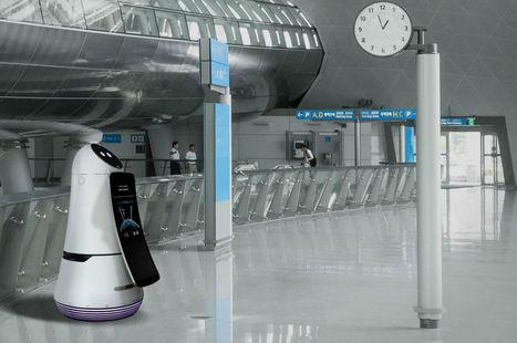 CES 2017 : LG dévoile son robot pour les aéroports   UseNum - Tourisme   Scoop.it