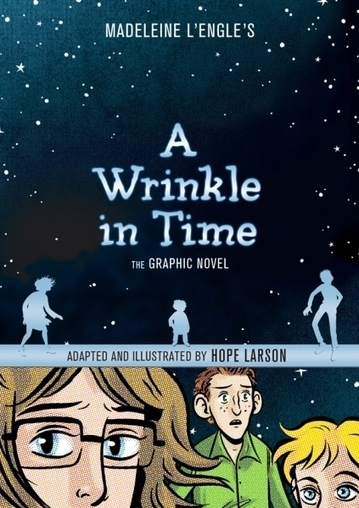'A Wrinkle in Time: The Graphic Novel': Hope Larson inks a classic | LibraryLinks LiensBiblio | Scoop.it