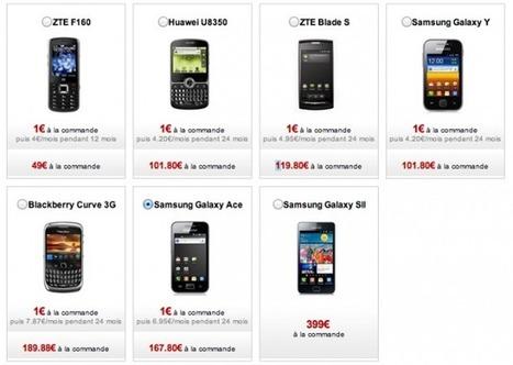 Free Mobile : tous les smartphones baissent de prix ! | Je, tu, il... nous ! | Scoop.it