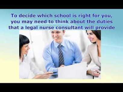 Are you interested in becoming a Legal Nurse Consultant ?