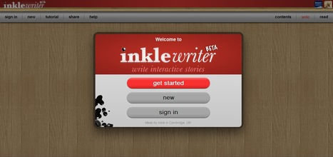 inklewriter : Write interactive stories | ALN : Arpege Learning Network (Groupe ARPEGE) | Scoop.it