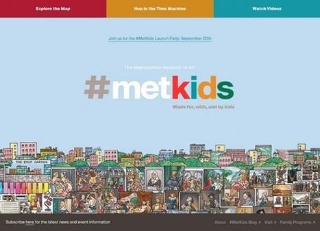 Met Museum: un nouveau site web jeunesse et une troisième saison de la série vidéo The Artist Project | Digital Creativity & Transmedia | Scoop.it