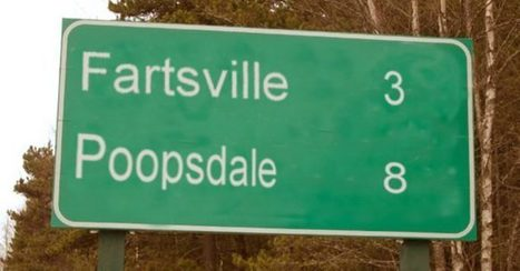 30 Awesomely Weird Names of Towns and Cities | Strange days indeed... | Scoop.it