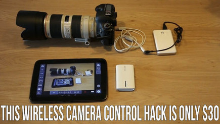 This Wireless Camera Control And LiveView DIY Hack Is Only $30. | DSLR video and Photography | Scoop.it