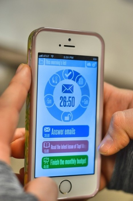 Zephyrus : How Your Phone Can Actually Increase Your Productivity   time management   Scoop.it