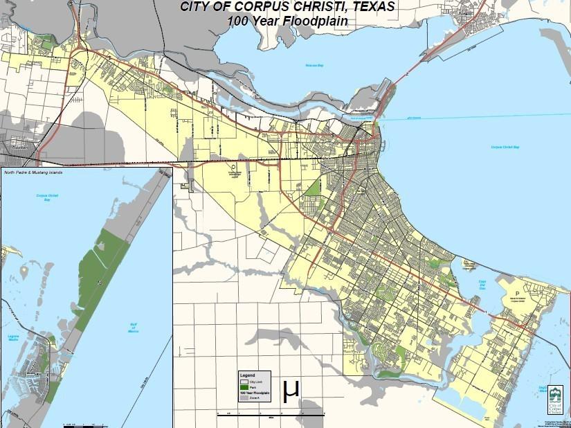 Draft Flood Maps Give Corpus Christi Residents
