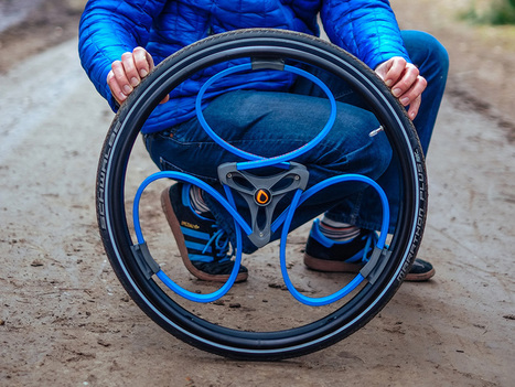 A Clever Shock-Absorbing Bike Wheel, Now for Wheelchairs | WIRED | Eye on concepts | Scoop.it