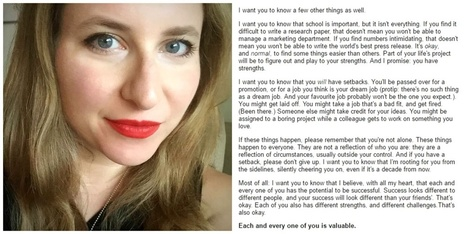This teacher's thank-you letter to her students went viral because we all needed it. | Consciousness & Creativity | Scoop.it