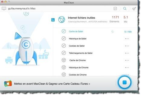 Comment nettoyer votre MAC d'un simple clic avec MacClean. | Au fil du Web | Scoop.it