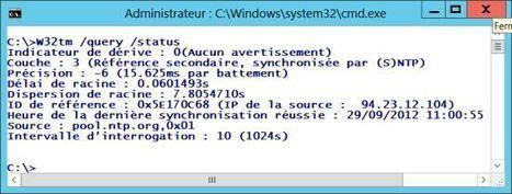 Activer le serveur NTP sur Windows Server 2012 | Informatique | Scoop.it