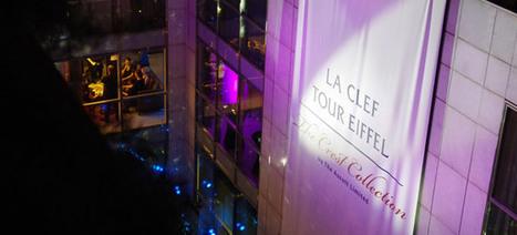 Le nouveau nom de l'hôtel s'affiche en grand pour l'événement - Celize Habillage Urbain | Habillage Urbain | Scoop.it
