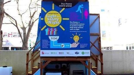 Un urinario que produce electricidad | Transición | Scoop.it