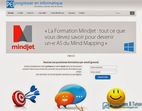 "Le site du jour : Progresser En Informatique (Plateforme de formation en ligne) | ""blended learning"" - multimodal - multi-ressources pédagogiques 