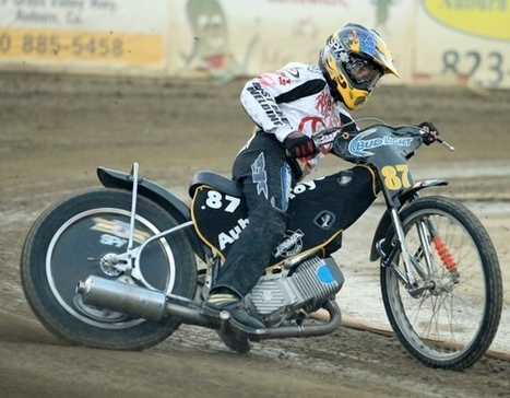 Bast and Hicks in Fast Fridays Finales | California Flat Track Association (CFTA) | Scoop.it