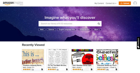 Amazon Unveils Online Education Service for Teachers | We Teach Social Studies | Scoop.it