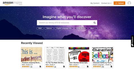 Amazon Unveils Online Education Service for Teachers | We Teach Social Studies | Scoop.it