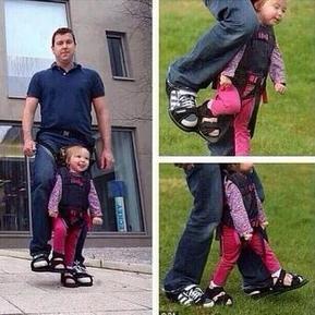Diseña unos zapatos para que su hija paralítica sepa lo que es caminar | Apasionadas por la salud y lo natural | Scoop.it