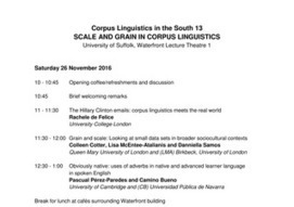 Corpus Linguistics in the South #cls13 | TELT | Scoop.it