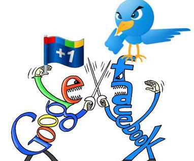 Google+ dépasse Twitter et se rapproche de Facebook | Réseaux sociaux et community management en France | Scoop.it