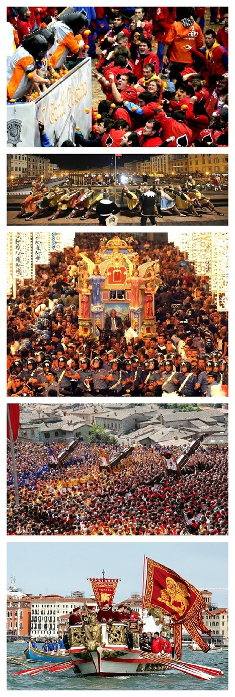 Top 5 Fun Festivals in Italy | Italia Mia | Scoop.it