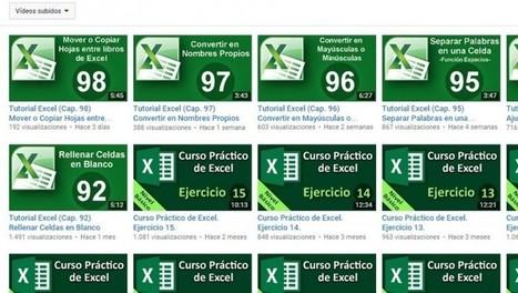 3 canales de Youtube para aprender Excel, en español   Educación y currículo   Scoop.it