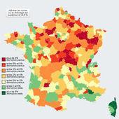 La carte de France des pertes d'emplois   16s3d: Bestioles, opinions & pétitions   Scoop.it