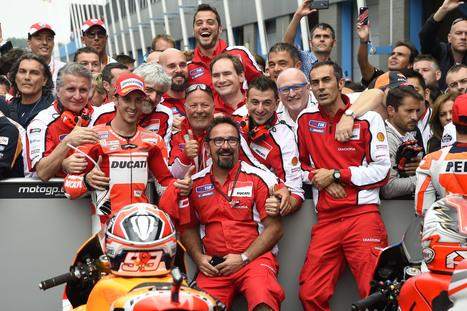 Race Day! Ducati Team - Assen MotoGP Photo Gallery | Ductalk Ducati News | Scoop.it