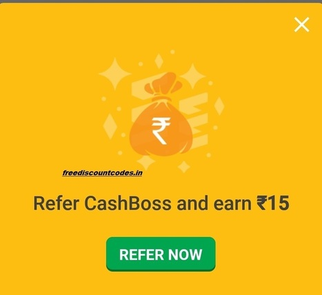 (Proof) Cashboss Referral Code {2421C}Refer And Earn Free Paytm Cash | Coupons, deals & offers, free recharge, unlimited money tricks, loot deals etc. | Scoop.it