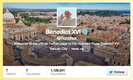 The Pope Sent Out His First Tweet | JohnieTidwell.com | Scoop.it