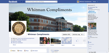 Cyber-graciousness: Students set up Facebook sites for compliments | Leezard | Scoop.it