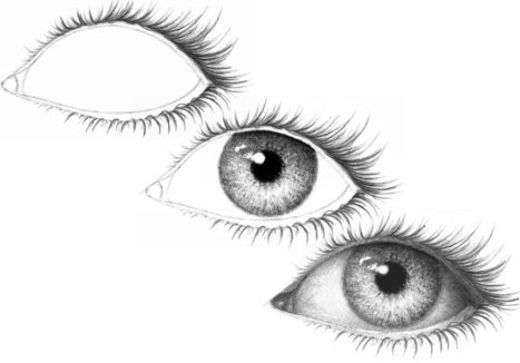 Eyelashes on an eye drawing and painting tutorials scoop it