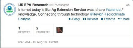 Why Social Media Matters – US EPA Research accidentally writes #CoopExt Obit | Working Differently in Extension | Scoop.it