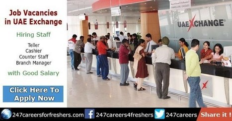 UAE Exchange Careers in Dubai & Abu Dhabi C