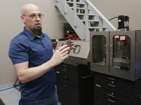 Lafayette man creates machine to fill skills gap   Today's Manufacturing News   Scoop.it