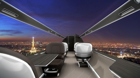 Windowless Airplane Will Give Passengers High-Res Panoramic Views | World of Tomorrow | Scoop.it