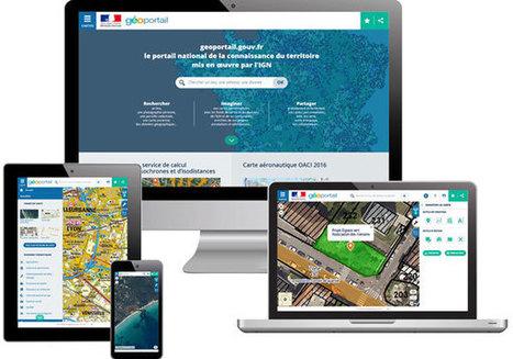 Le nouveau Géoportail est en ligne - IGN | Mon Environnement d'Apprentissage Personnel (EAP) | Scoop.it