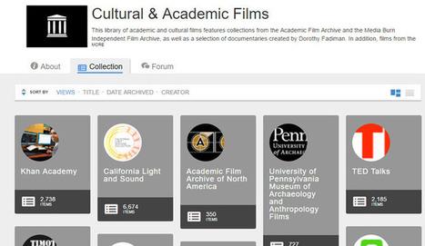 Una colección de 35.000  películas académicas y culturales | Educar, innovar, compartir | Scoop.it